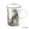 Roy Carr Cam Cat Collection (calico) Beaker with Strainer 320cc