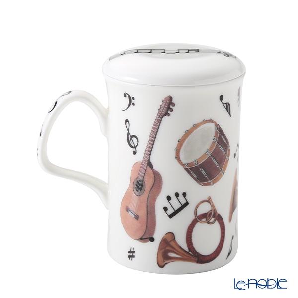 Roy Kirkham Concert Infuser Mug, Violin & Horn