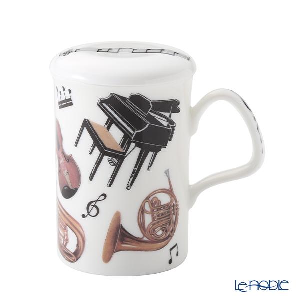 Roy Kirkham Concert Infuser Mug, Piano & Horn