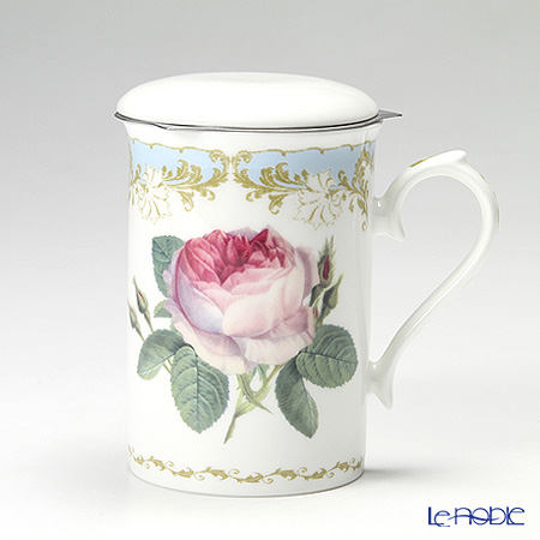 Roy Kirkham Vintage Roses Infuser Mug, Blue