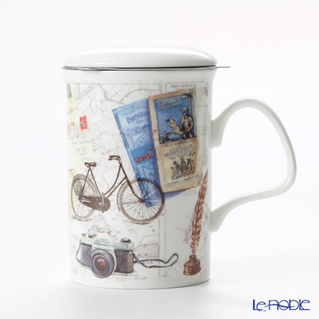 Roy Kirkham Pastimes Infuser Mug, Bicycle