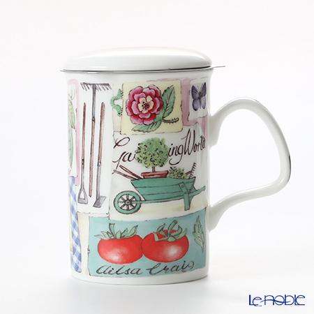 Roy Kirkham My Garden Infuser Mug, tomato