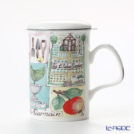 Roy Kirkham My Garden Infuser Mug, radish