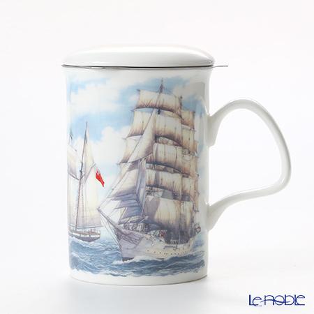 ロイカーカム セイリング 帆船(ホワイト) こし器付ビーカー 320cc