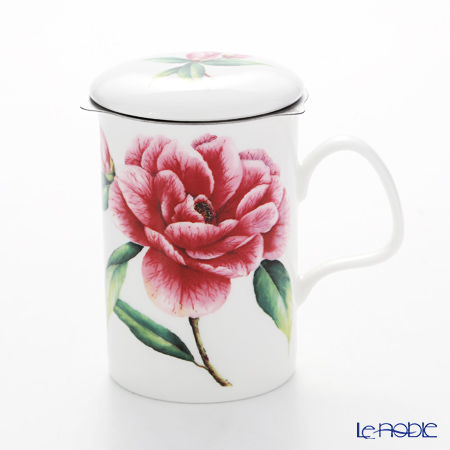 Roy Kirkham Camellia Infuser Mug, single