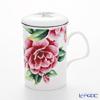 Roy Kirkham Camellia Infuser Mug, multi