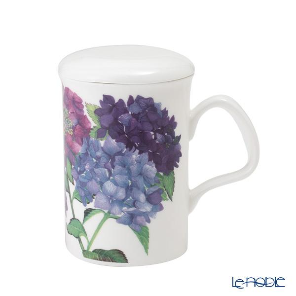 Roy Kirkham Hydrangea Infuser Mug, purple
