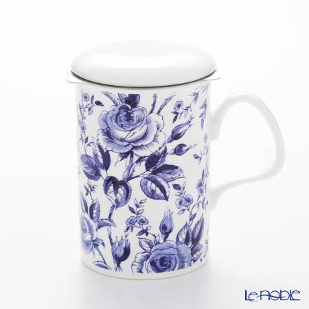 Roy Kirkham English Blue Infuser Mug, multi
