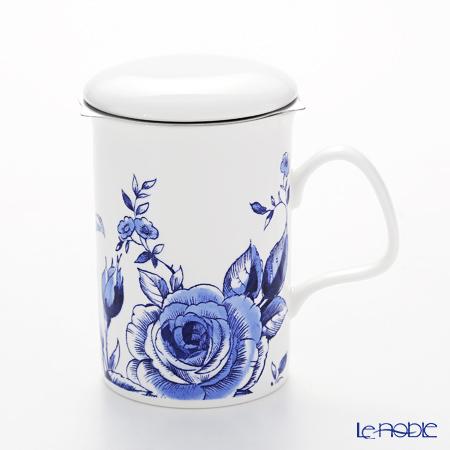 Roy Kirkham English Blue Infuser Mug