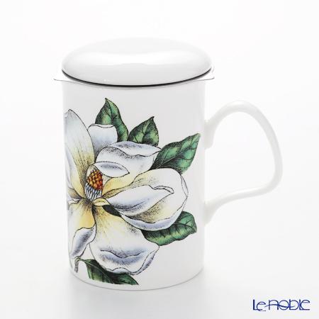 Roy Kirkham Botanica Infuser Mug, magnolia