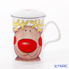 Roy Kirkham Christmas (reindeer) Strainer with beaker 320 cc