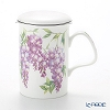 Roy Kirkham 'Wisteria (Flower)' Mug with Infuser & Lid 320ml