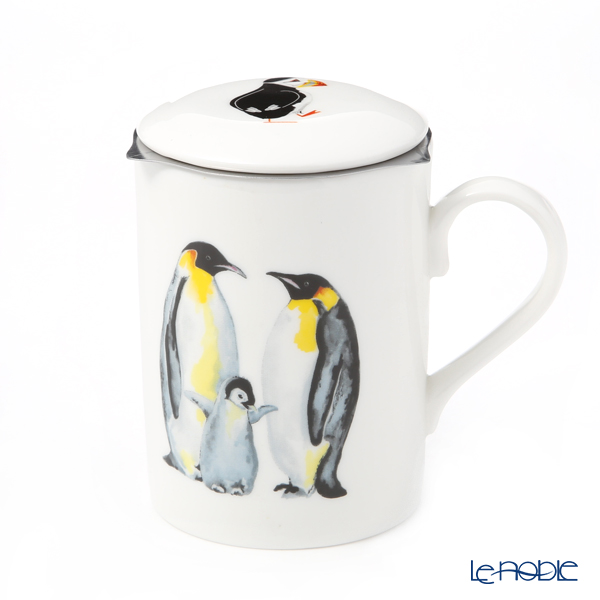 Roy Carkham Penguin (family) Beaker with strainer, Lucy 325cc