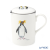 Roy CarCam Rockhopper Penguin Beaker with strainer, Lucy 325cc