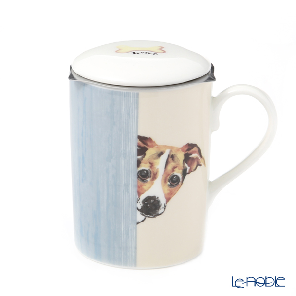 Roy CarCam dog Through the door (Jack Russell) Beaker with strainer, Lucy 325cc