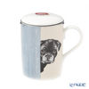 Roy CarCam dog Through the door (Pug black) Beaker with strainer, Lucy 325cc
