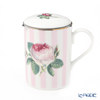 Leukerkam Harre Queen Floral Beaker with strainer, Lucy 325cc