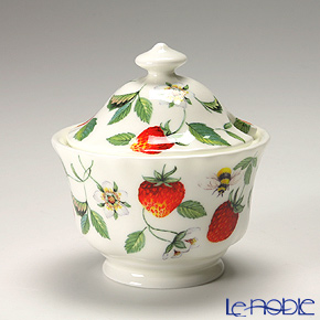 Roy Kirkham Alpine Strawberry Covered Sugar Bowl 200 cc
