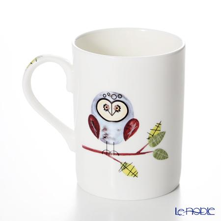 "Roy Kirkham RSPB Helping to Give Nature a Home ""Lyric"" Mug, owl in Fine Bone China"