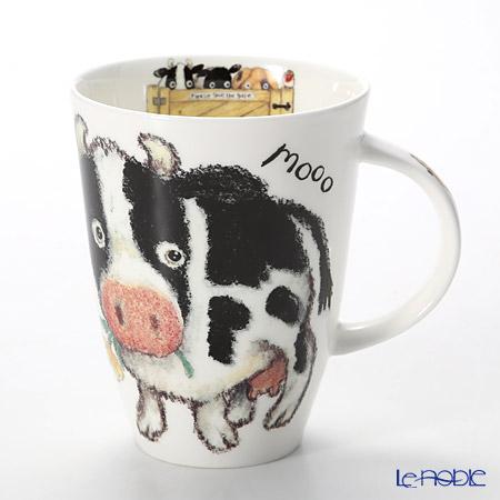 Roy Kirkham Please Shut The Gate Louise Mug, cow