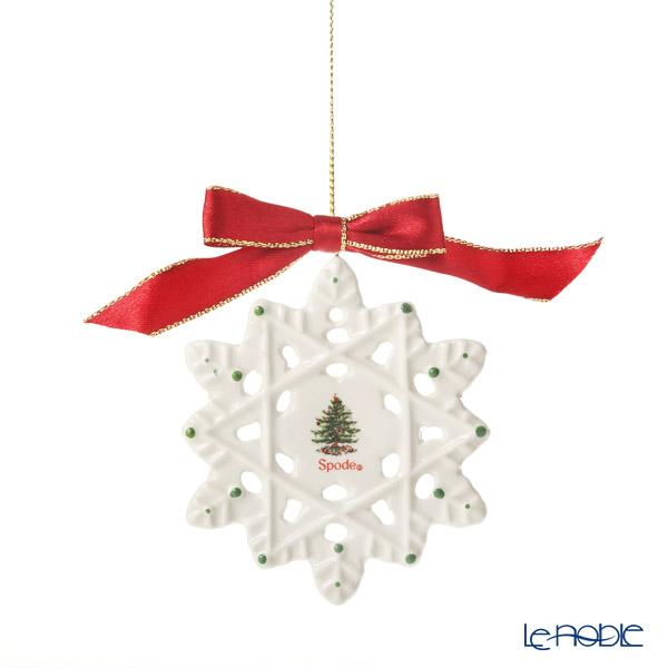 スポード クリスマスツリー オーナメント スノーフレーク 19W