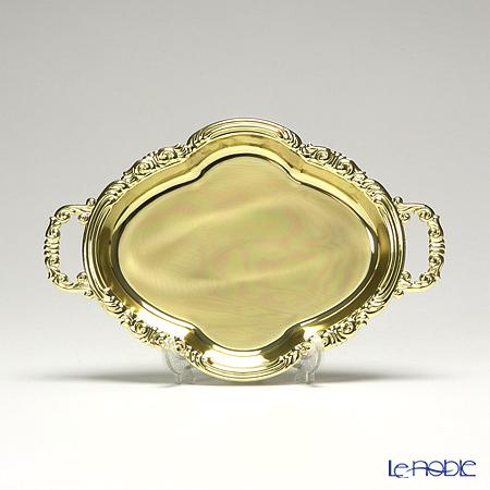 アディルサ ミニトレイ 16×25cm ゴールド 259L