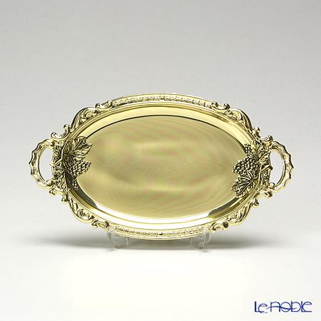 アディルサ ミニトレイ 10×19cm 葡萄両側ゴールド 214L