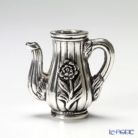 Adyrsa 'Coffee Pot with Flower' AD898P Fruits Picks (set of 6 with Holder)