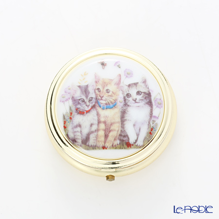 ロイター・ポーセリン ピルケース 5cm 9.242/0 子猫