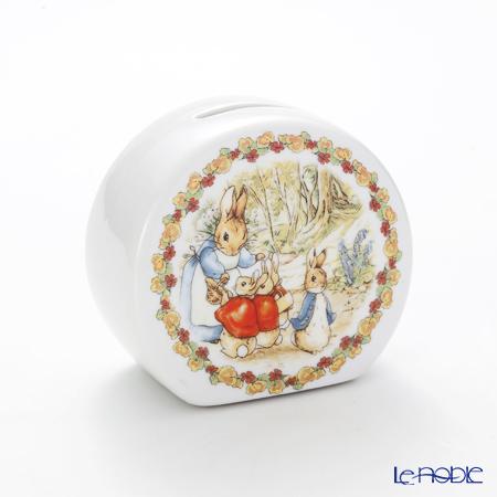 Reutter Porzellan 'Beatrix Potter - Peter Rabbit Flower' 57.085/0 Money Bank