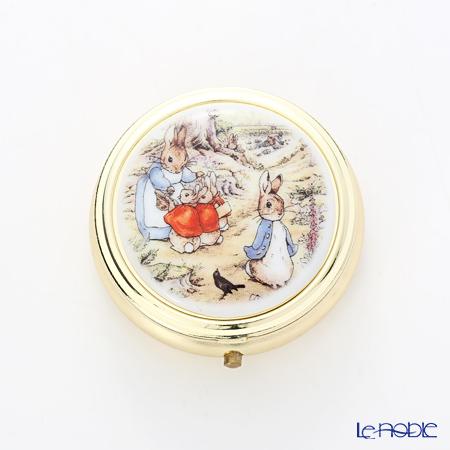 ロイター・ポーセリン ビアトリクスポター ピルケース 5cm 59.242/0 ピーターラビット パーク