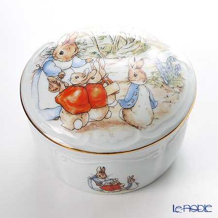 Reutter Porzellan From the World of Beatrix Potter Peter Rabbit Ornament Box 059294/0