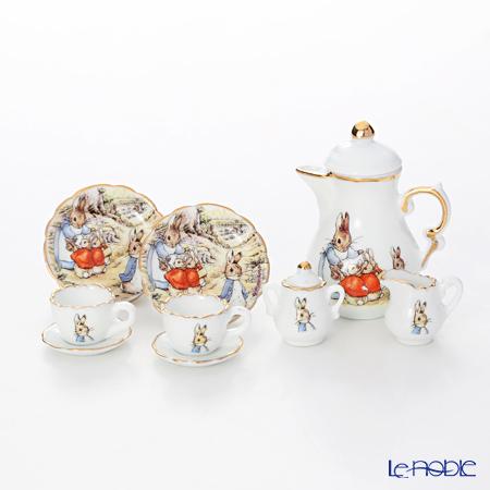 Reutter Porzellan 'Beatrix Potter - Peter Rabbit' 59.450/3 Miniature Coffee set