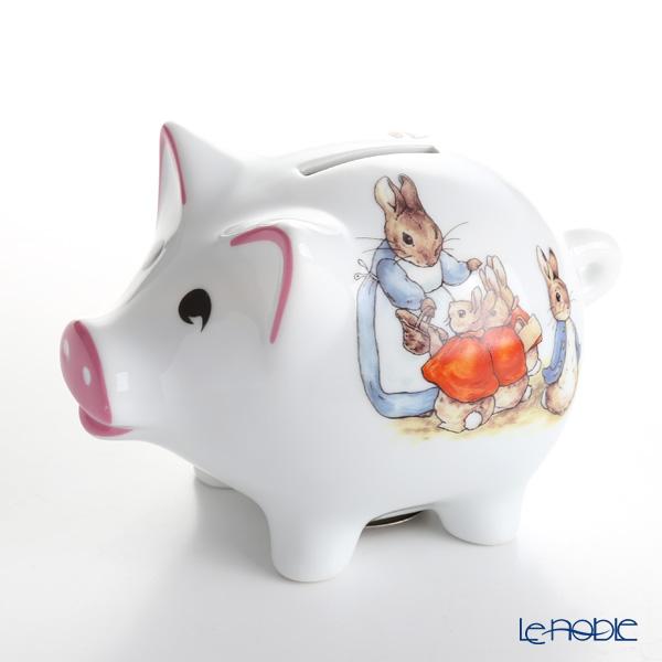 Reutter Porzellan 'Beatrix Potter - Peter Rabbit' 60.082/0 Piggy Money Bank