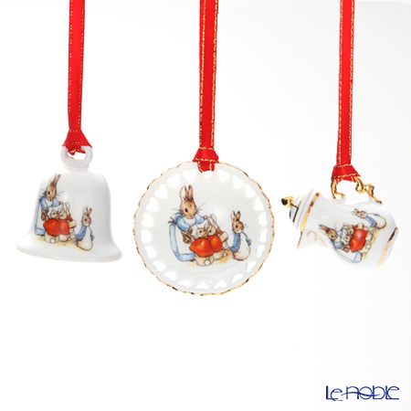 Reutter Porzellan From the World of Beatrix Potter Ornaments (Set of 3) 60318 / 0