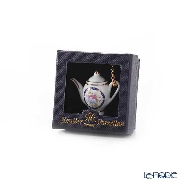 Reutter Porzellan Royal Blue 255.028/2 Pendant 'Miniature Tea Pot'