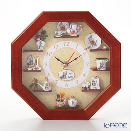 Reutter Porzellan Beatrix Potter Peter Rabbit Miniatures Wall Clock 056668/0