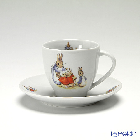 Reutter Porzellan From the World of Beatrix Potter Peter Rabbit Morning Cup & Saucer 200 ml 99074/0