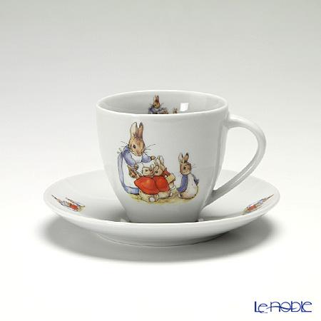 ロイター・ポーセリン ビアトリクスポター 099074/0 ピーターラビット モーニングカップ&ソーサー 200ml