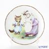 ロイター・ポーセリン ビアトリクスポター 058530/3-II(ボタン)子猫のトム プレート 15cm プレート立て付