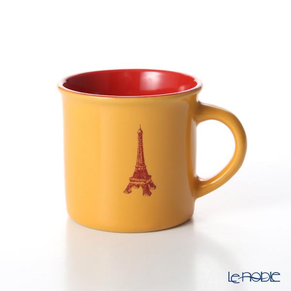 Nothing as Paris 'Orange / Red / Dark Red' Mini Mug