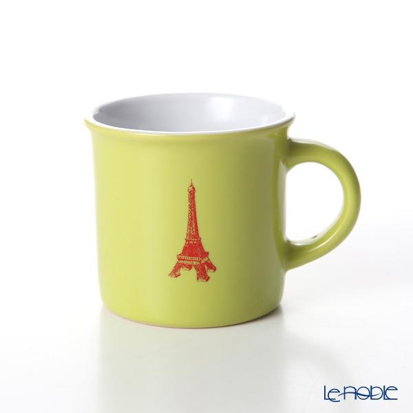 Nothing as Paris ミニマグカップ(黄緑/白/赤)