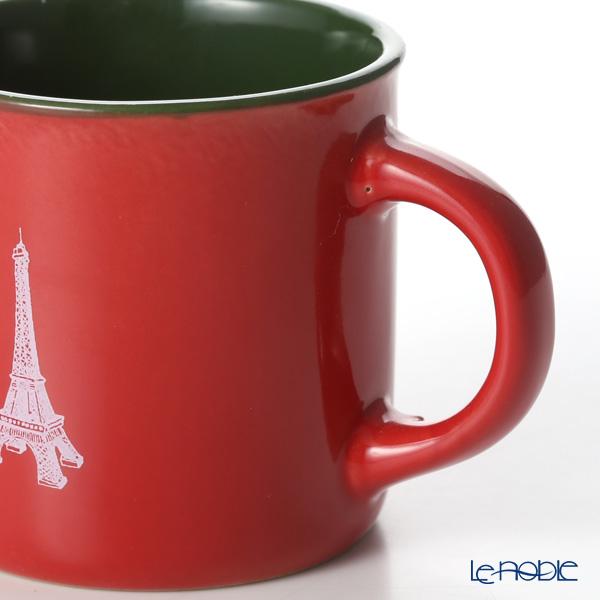 Nothing as Paris 'Red / Green / White' Mini Mug