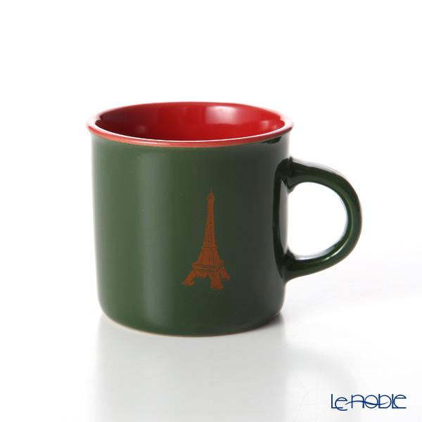 Nothing as Paris ミニマグカップ(緑/赤/オレンジ)