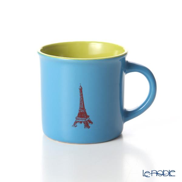 Nothing as Paris ミニマグカップ(水色/黄緑/赤)