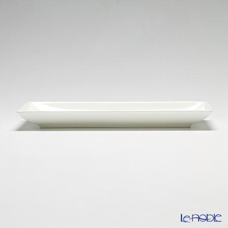 プリモビアンコ 白の器長方形皿 29×12cm