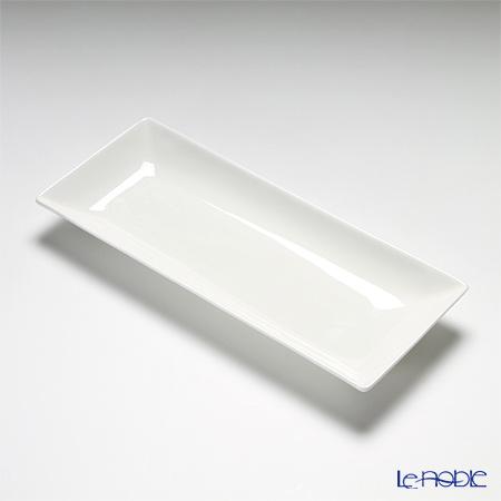 プリモビアンコ 白の器 長方形皿 29×12cm