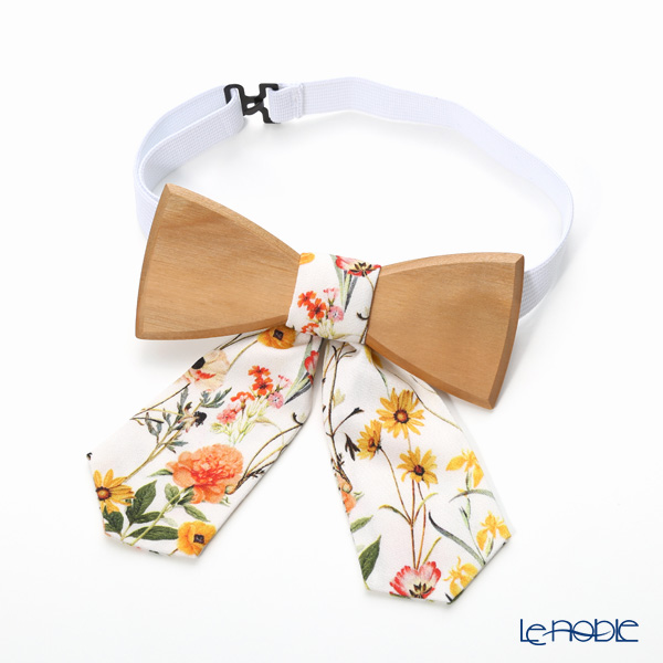 BeWooden 'Pae (Flower)' WBT128 Bow Tie for Lady