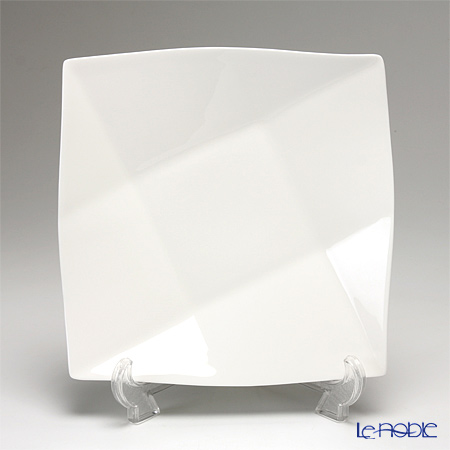 プリモビアンコ 白の器 スクエア ディーププレート(M) 23cm