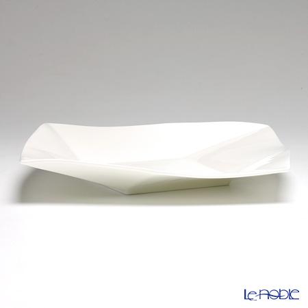 プリモビアンコ 白の器スクエアディーププレート(L) 27cm